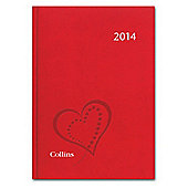 British Heart Foundation A5 Week To View Diary