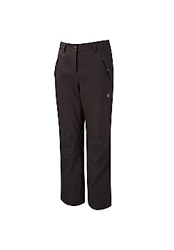 Craghoppers Ladies Airedale Waterproof Breathable Stretch Trousers - Black