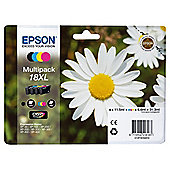 Epson Multipack 18XL Claria Home Printer Ink Cartridge Colour