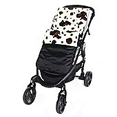 Isabella Alicia Waterproof Fleece Footmuff (Wild Cow)