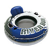 Intex River Run Luxury Inflatable Ring Floating Swimming Pool Tube