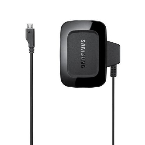 Samsung Original Compact Micro USB 3 Pin Charger - Black