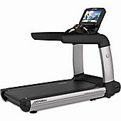 Life Fitness Platinum Club Discover SE Treadmill WiFi - Arctic Silver