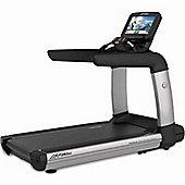 Life Fitness PCS Discover SE Treadmill WiFi - Arctic Silver