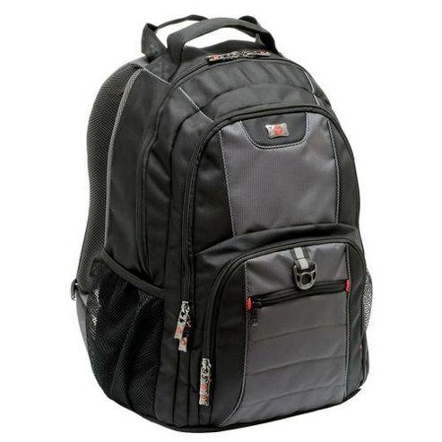 Wenger SwissGear Pillar Backpack (Grey/Black) for 16 inch Notebooks