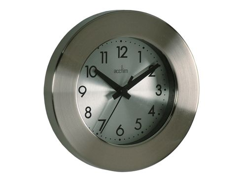 Acctim 26027 Button Metal Wall Clock