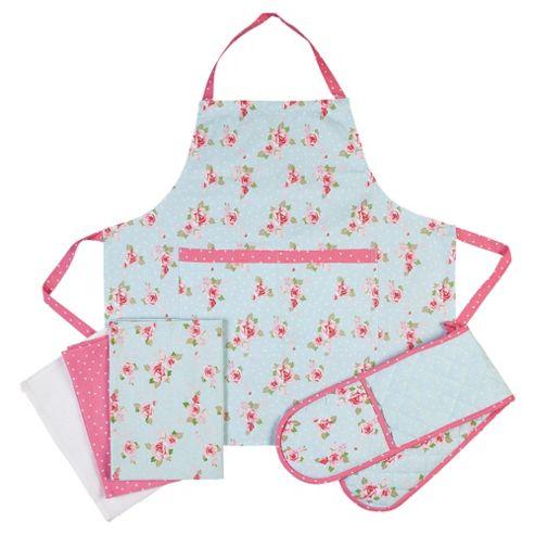 Tesco English Rose Kitchen Textiles Set