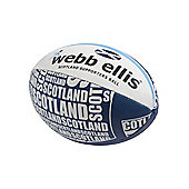 Webb Ellis Scotland Supporters Ball size 5