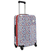 Revelation by Antler Abby Hard Shell 4-Wheel Suitcase, Red Medium