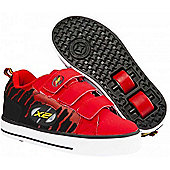 Heelys Speed Red/Black Heely Shoe - Red