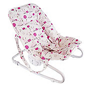 BabyDan Bouncing Chair Tarok Design in Pink