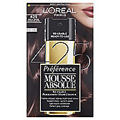 L'Oréal Mousse Absolue 425 Rich Dark Chocolate