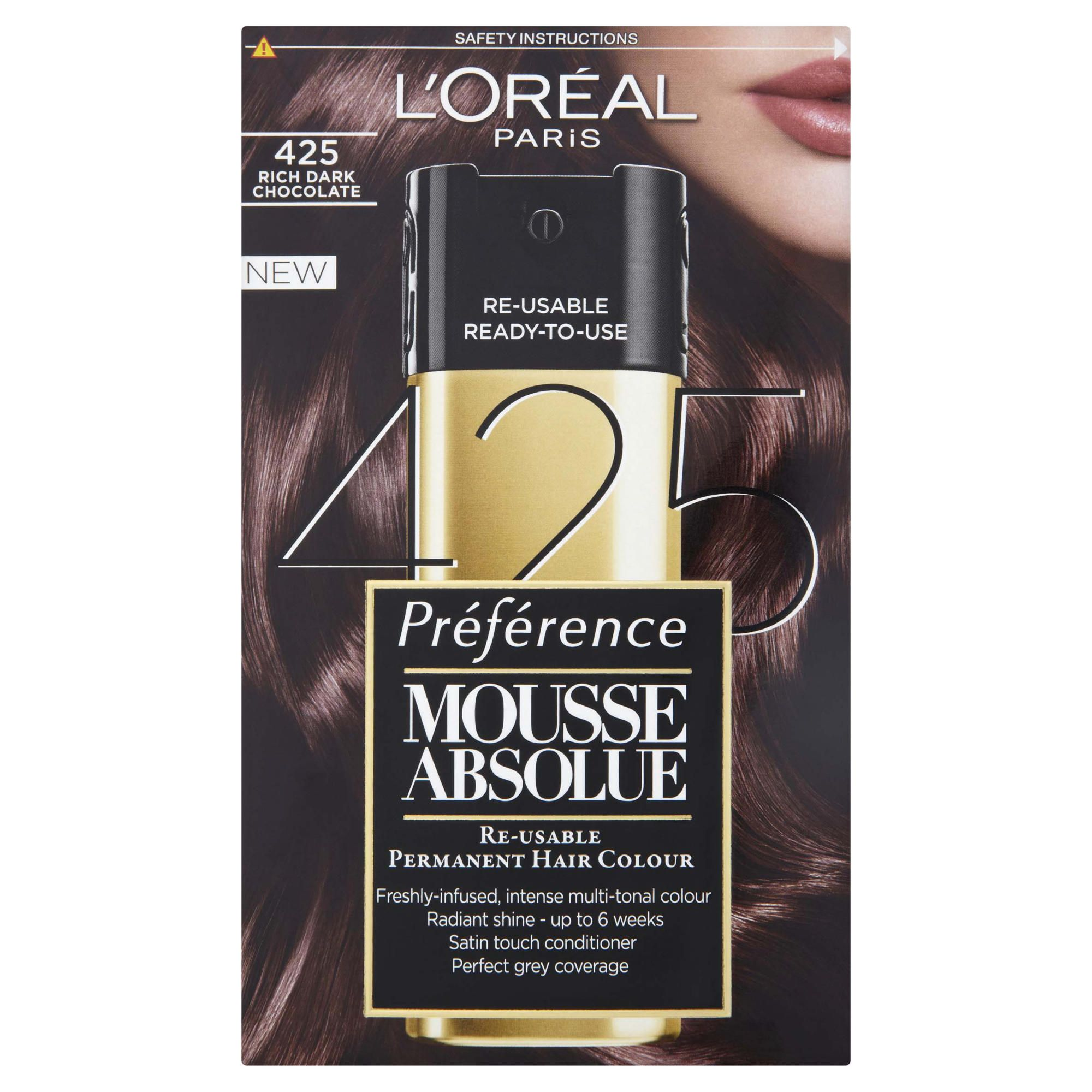 L'Oreal Mousse Absolue Rich Dark Chocolate 425