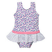 Ditsy Floral Swimsuit - Multi