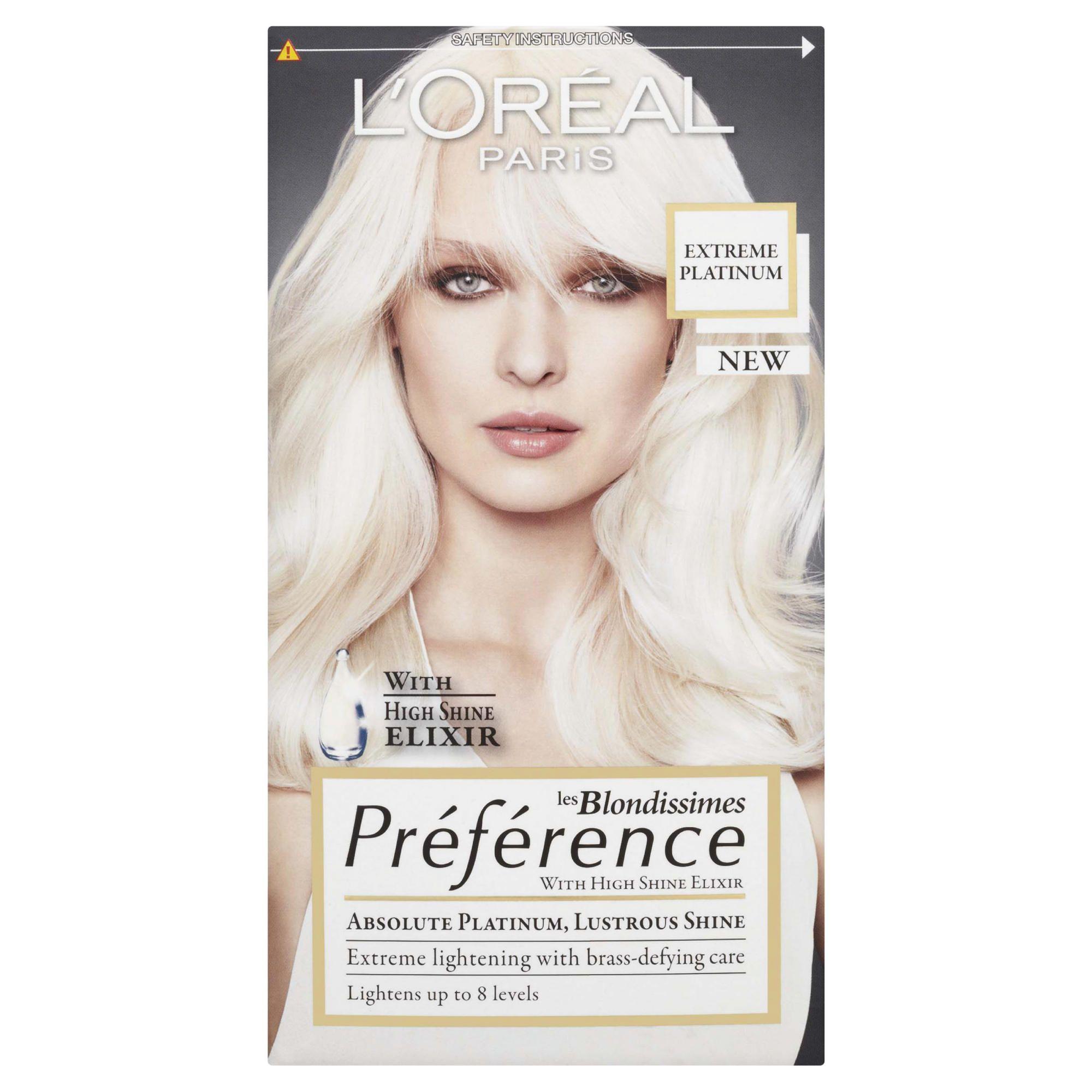 L'Oreal Preference Platinum Extreme Platinum Blonde 8L