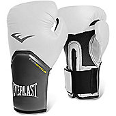 Everlast Pro Style Elite Training Boxing Gloves - White