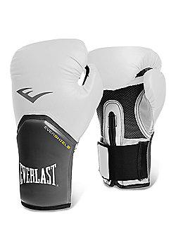 Everlast Pro Style Elite Training Boxing Gloves - White