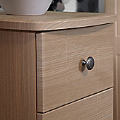 Welcome Furniture Kingston 4 Drawer Chest with Locker - Light Oak