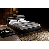 Birlea Signature Faux Leather Bed - Brown - Double