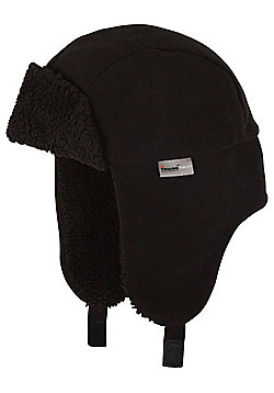 """F&F Fleece Lined Trapper Hat with Thinsulateâ""""¢ - Black"""