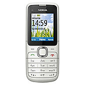 SIM Free Unlocked Nokia C1-01 Warm Grey