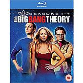 BIG BANG THEORY S1-7 (BD) DVD