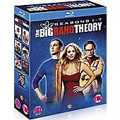 Big Bang Theory Season 1-7 Blu-Ray