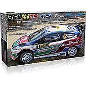 Belkits Ford Fiesta Rs Wrc Rally Car Model Kit 1:24 003