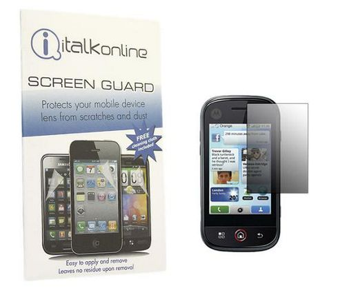 S-Protect LCD Screen Protector & Micro Fibre Cleaning Cloth - Motorola DEXT