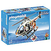 Playmobil Fire Helicopter