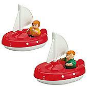 Aquaplay 252 2 Sailboats And 2 Puppets