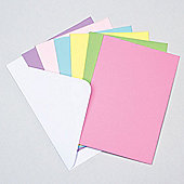 Coloured Card Blanks (Pack of 12)