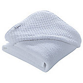 Clair de Lune Luxury Hooded Towel (Honeycomb White)