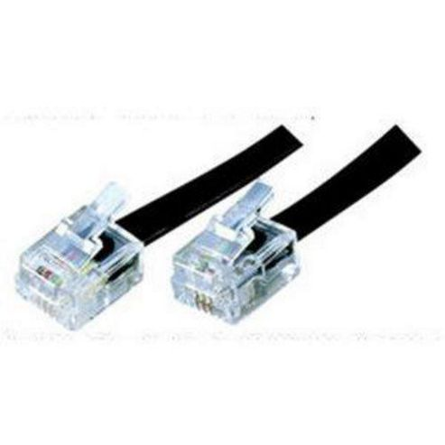 Buy computer products online 15m adsl modem router broadband internet cable rj11 rj12 15 - Cable adsl rj11 ...