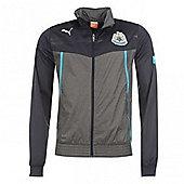 2013-14 Newcastle Puma Walkout Jacket (Black) - Kids - Black