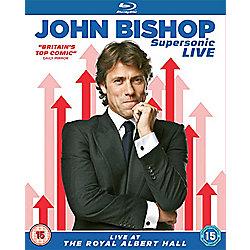 John Bishop Supersonic: Live at the Royal Albert Hall Blu ray