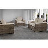 Desser Bath 2 Seater & 2 Chairs Set in Sicily