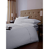 Hotel Collection 500Tc Extra Deep Fitted Sheet Pair - White - Purple