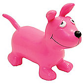 Happy Hopperz Pink Dog