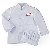 KidKraft Chef's Jacket and Chef's Hat Set - Small