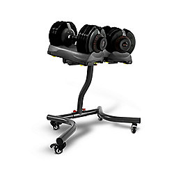 Bodymax 2 x 32.5Kg Selectabell Dumbbells & Stand
