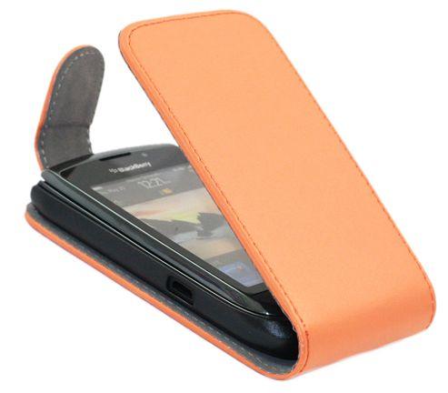 iTALKonline 21227 Orange FlipMatic Easy Clip On Vertical Pouch Case - BlackBerry 9800 Torch