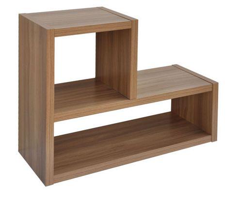 buy home essence madison 2 shelf l shape shelving unit. Black Bedroom Furniture Sets. Home Design Ideas