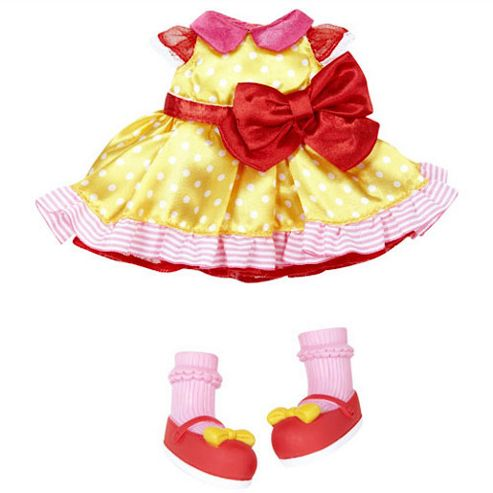 Lalaloopsy Yellow Party Dress Outfit