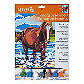 Reeves Junior Paint by Numbers - Pony - Art Store