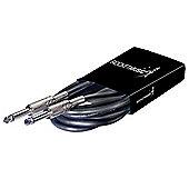 Jack to Jack Unbalanced Instrument Cable - 1.5m