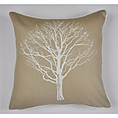 Fusion Woodland Trees Cushion Cover 43x43cm - Natural