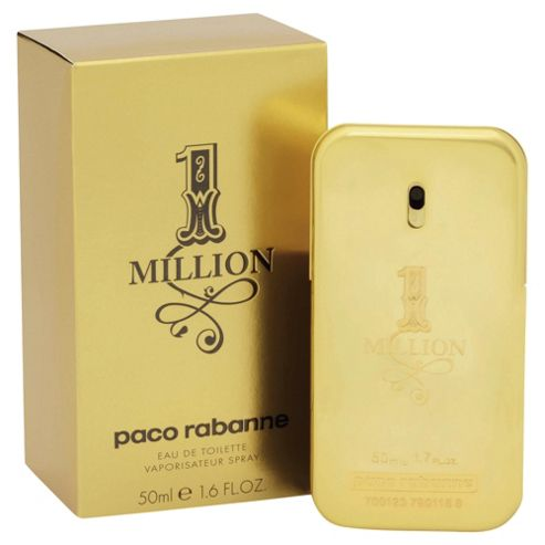 buy paco rabanne 1 million eau de toilette 50ml spray from
