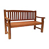 Turnbury Wooden Garden Bench, Acacia, 3 seater