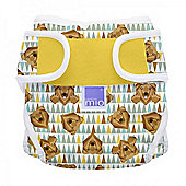 Bambino Mio Miosoft Reusable Nappy Cover - Size 1 (Grizzly)